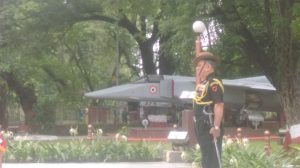 WREATH LAID BY LT GEN BIPIN RAWAT AT THE NATIONAL MEMORIAL ON KARGIL DAY