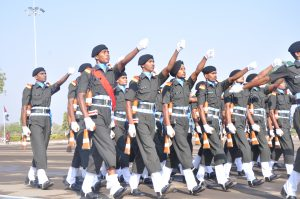 230 RECRUITS PASSED OUT IN GLORIOUS PASSING OUT PARADE AT ARMOURED CORPS CENTRE AND SCHOOL, AHMEDNAGAR
